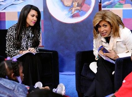 Kourntey Kardashian, Hoda Kotb, The Today Show