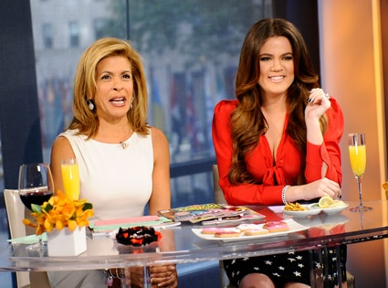Khloe Kardashian, Hoda Kotb, The Today Show
