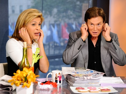 Bruce Jenner, Hoda Kotb, The Today Show