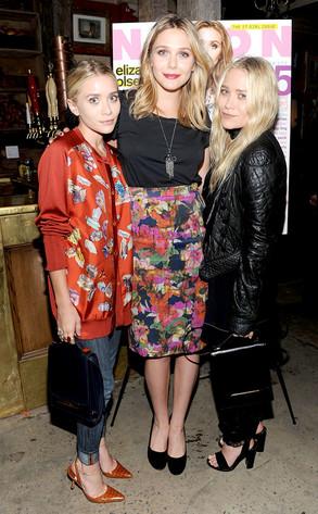 Ashley Olsen, Elizabeth Olsen, Mary- Kate Olsen