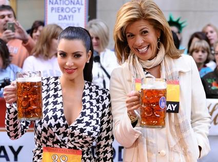 Kim Kardashian, Hoda Kotb, Today Show
