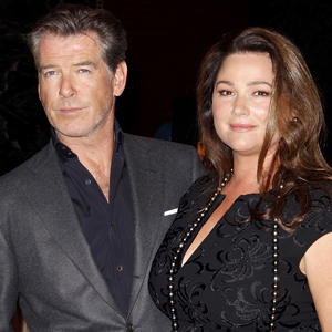 Pierce Brosnan, Keely Shanye Smith