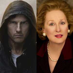 Mission Impossible, The Iron Lady