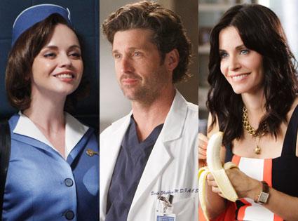 Pan Am, Cougar Town, Grey's Anatomy