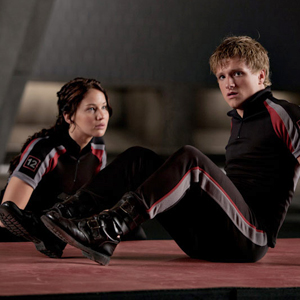 Hunger Games, Jennifer Lawrence, Josh Hutcherson