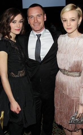 Keira Knightley, Michael Fassbender, Carey Mulligan