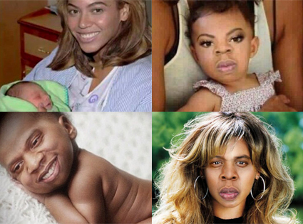 Beyonce Knowles, Jay-Z, Fake Blue Ivy