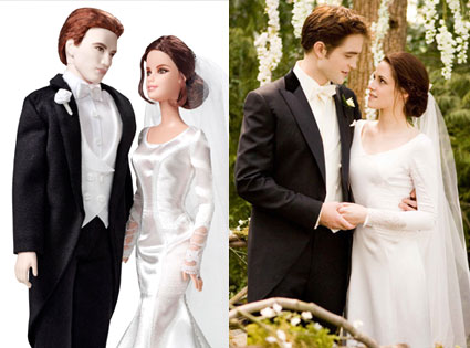 Twilight, Breaking Dawn, Robert Pattinson, Kristen Stewart, Dolls