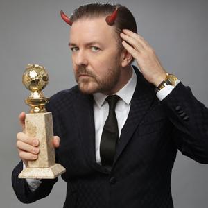Ricky Gervais, Golden Globes Promo