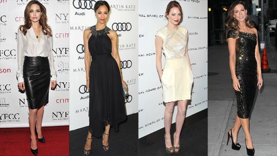 Best, Angelina Jolie, Zoe Saldana, Emma Stone, Kate Beckinsale