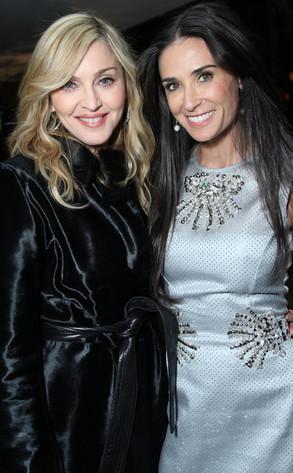 Madonna, Demi Moore