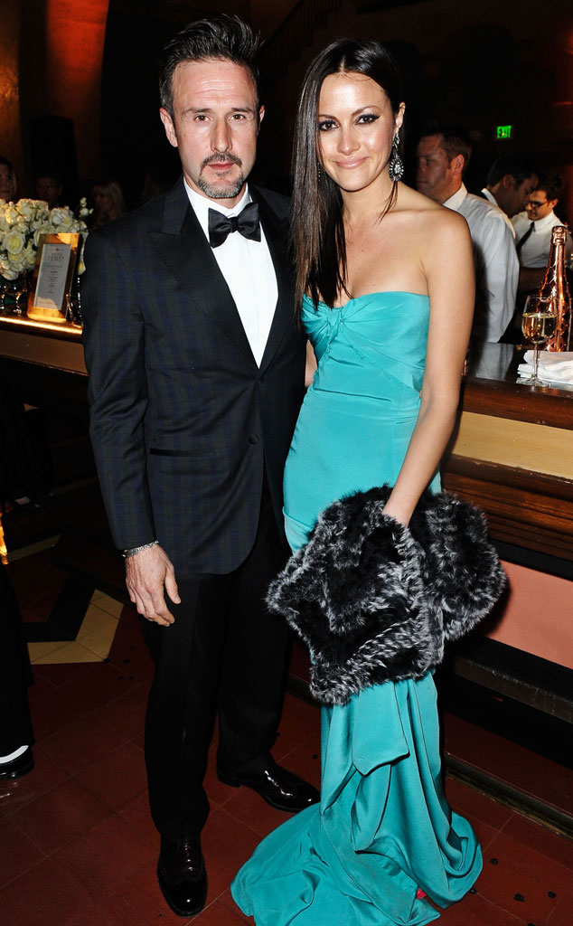 David Arquette S Gf Christina Mclarty Is Pregnant E Online
