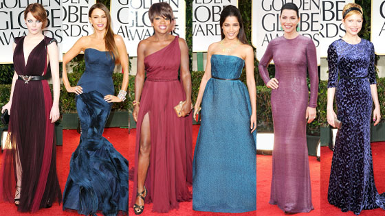 Viola Davis, Julianna Margulies, Sofia Vergara, Frieda Pinto, Michelle Williams, Emma Stone