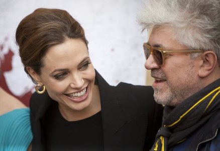 Angelina Jolie y Pedro Almóvar