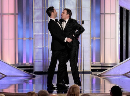 Adam Levine, Jimmy Fallon, Golden Globes