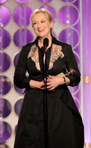 Meryl Streep, Golden Globes