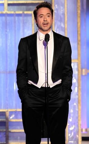 Robert Downey Jr., Golden Globes