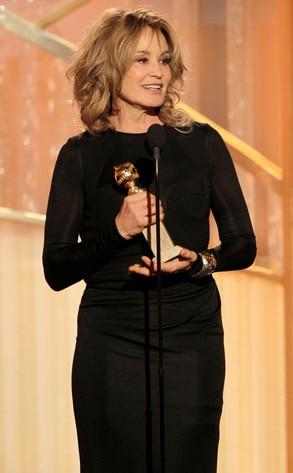 Jessica Lange, Golden Globes