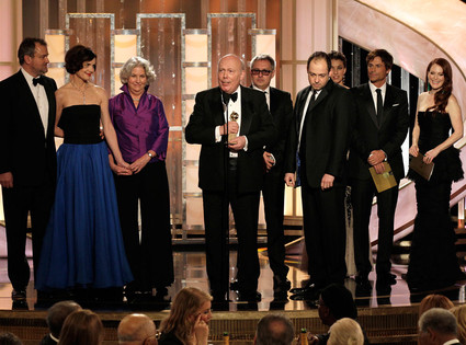 Julian Fellowes, Downtown Abbey, Golden Globes