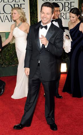 MarkWahlberg, Golden Globes