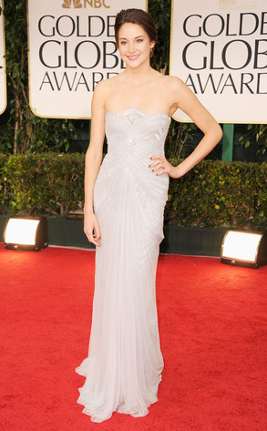 Shailene Woodley, Golden Globes