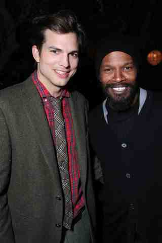 Ashton Kutcher, Jamie Foxx