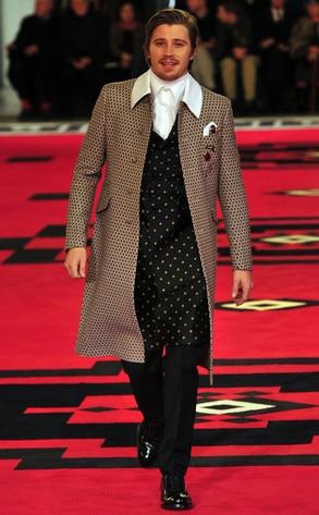 Prada Fashion Show, Garrett Hedlund