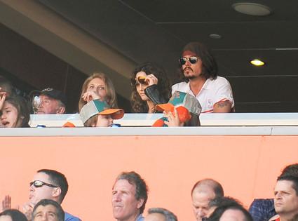 Johnny Depp, Vanessa Paradis, Lily-Rose Depp, Jack Depp