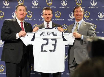 Tim Leiweke, David Beckham