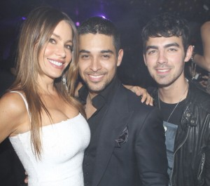 Sofia Vergara, Wilmer Valderrama e Joe Jonas
