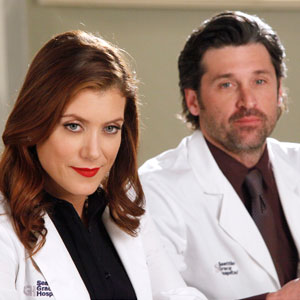GREY'S ANATOMY, KATE WALSH, PATRICK DEMPSEY