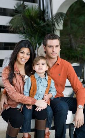 Mason Disick, Kourtney Kardashian, Scott Disick, 2nd Birthday Party