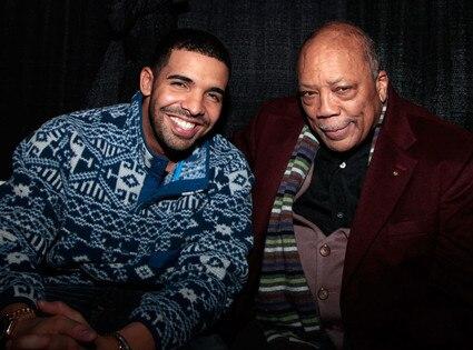 Drake, Quincy Jones, Sundance