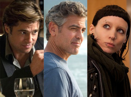The Descendants, The Girl With The Dragon Tattoo, Moneyball