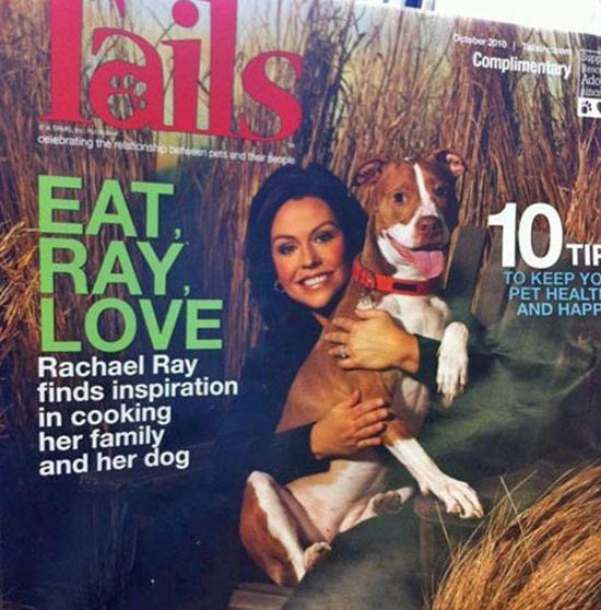 Rachel Ray eats Dogs Soup X2