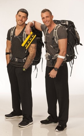 """THE AMAZING RACE 20, Joey """"Fitness"""" Lasalla, Danny Horal"""
