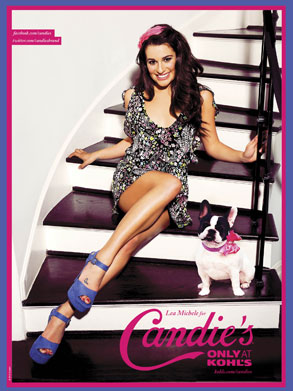 Lea Michele, Candies
