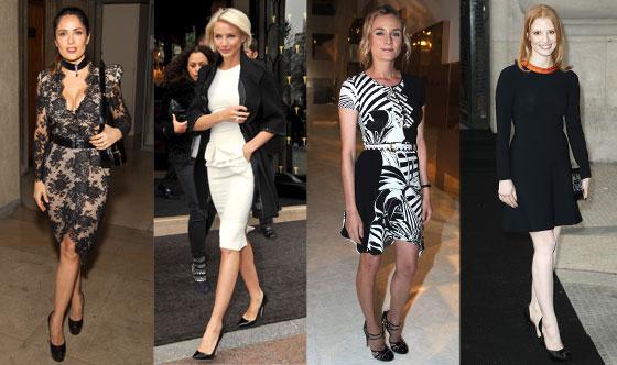 Le dive di hollywood alla settimana della moda di parigi - Dive di hollywood ...