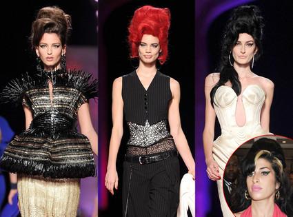 Jean Paul Gaultier, Amy Winehouse