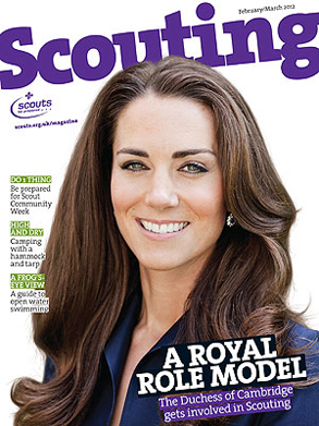 Kate Middleton, Scouting