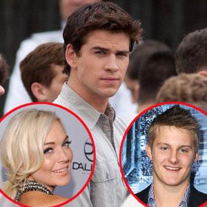 Liam Hemsworth, Hunger Games, Lindsay Lohan, Alexander Ludwig