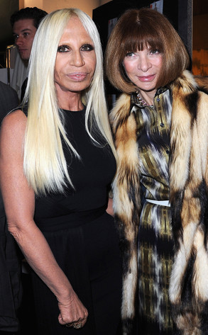 Donatella Versace, Anna Wintour