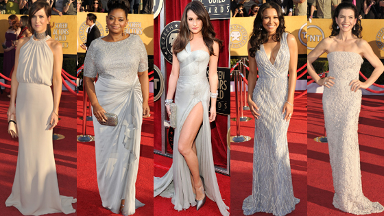 Lea Michele, Octavia Spencer, Naya Rivera, Julianna Margulies, Kristen Wiig