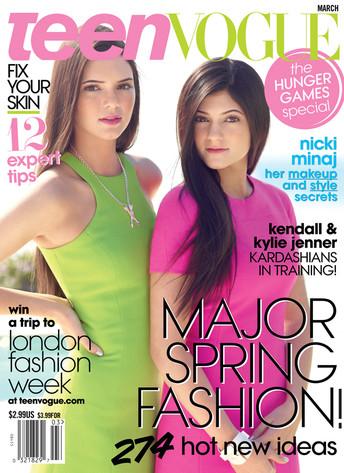 Kylie Jenner, Kendall Jenner, Teen Vogue