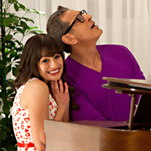 Glee, Lea Michele, Jeff Goldblum, Brian Stokes Mitchel