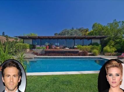 Ryan Reynolds, Scarlett Johansson Home