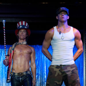 Magic Mike, ALEX PETTYFER, MATTHEW McCONAUGHEY, CHANNING TATUM