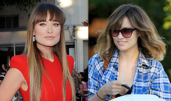Olivia Wilde Gets A Drastic New Haircut E Online