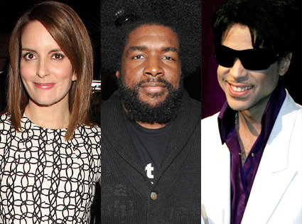 Tina Fey, Questlove, Prince