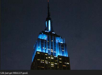 Jay-Z, Empire State Building